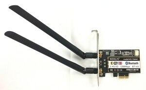 Image 4 - PCi Express 7260AC 2.4 グラム/5 グラムデュアルバンド 7260HMW 867 150mbps のワイヤレス PCI E Wi Fi 、ブルートゥース 4.0 7260 WIFI カードデスクトップ AC 7260 WLAN