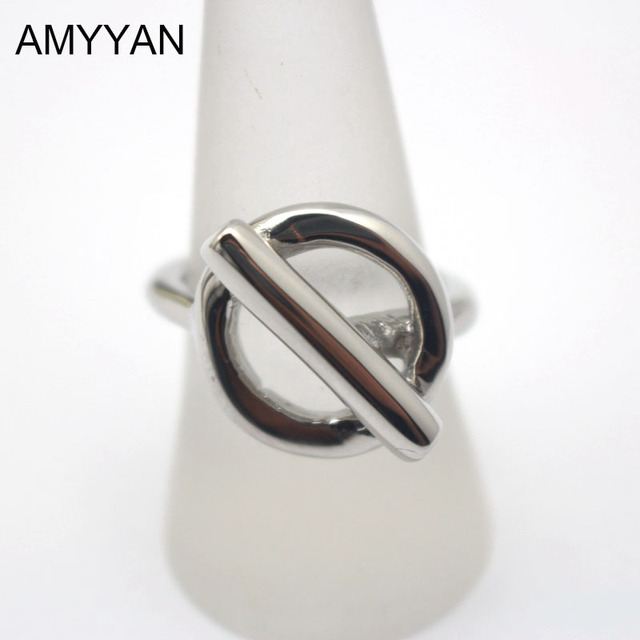 8062abe7b05 Personalized T 316 Titanium Steel Simple Knot Finger rings Fashion Jewelry  band ring men women Ring