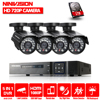 NINIVISION 4CH AHD 1080P HDMI 1 0MP 2000TVL Wired Home Security Camera System Kit 4CH 1080P