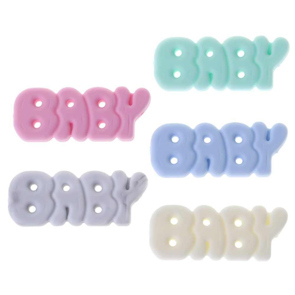 ลูกปัดซิลิโคนเด็กTeether DIYเครื่องประดับสร้อยคอจี้Teethingอุปกรณ์บดลูกปัดตัวอักษรทารกแรกเกิดOral Careยาสีฟันสูตรเกลือผสมฟลูออไรด์ผสานพลังสมุนไพรฟันขาวสะอาดลดกลิ่นปากเด็กผลิตภัณฑ์