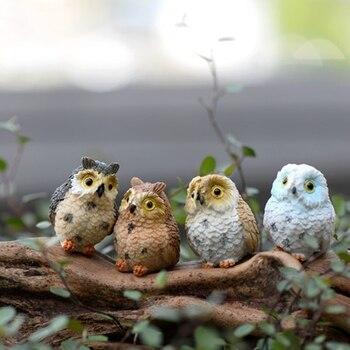 OOTDTY-Mini bonsái de resina para casa de muñecas, adorno de jardín artesanal, macetas de planta DIY, decoración de Patio y jardín
