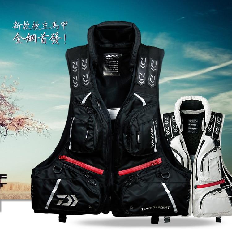 2017 NEW DAIWA Fishing life jacket Breathable outdoors Vest DAWA Fishing gear buoyancy 120 kg Man DAYIWA DF-3104 Free shipping