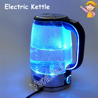 1.7L Electric Kettle Water Heater Household Automatic Power Off Boiler Germany Glass Anti dry LED Light Tea Pot Electric Kettle