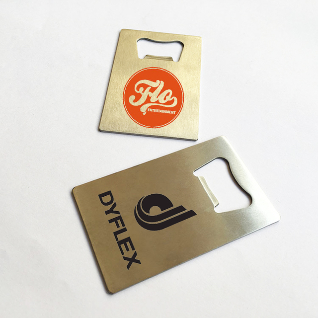 Beer opener business card arts arts custom logo printed wallet bottle opener credit card sized beer colourmoves