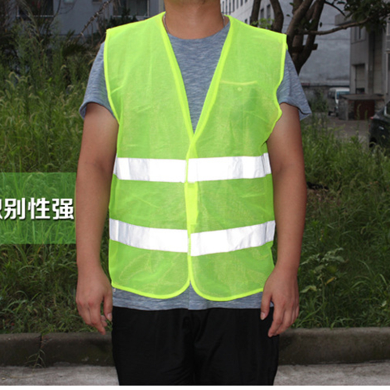 2018 High Quality High Visibility Reflective Vest Working Clothes Motorcycle Cycling Sports Outdoor Reflective Safety Clothing