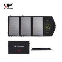 ALLPOWERS Solar Ladegeräte für Handy Dual USB Ausgang Lade für iPhone iPad Samsung Sony HTC LG etc.