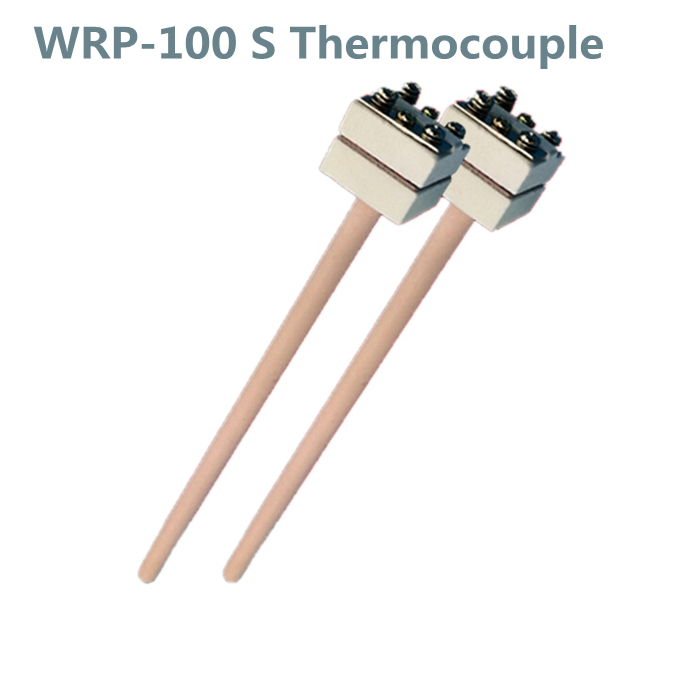 WRP-100 probe head S type Platinum and Rhodium thermocouple temperature sensor 1350 degree  монтажно тяговый механизм able wrp 16 20