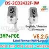 Ds 2cd2432f Iw DS 2CD2432F I W 3MP Cube Camera IP Camera Wireless Wifi Kamera Wi