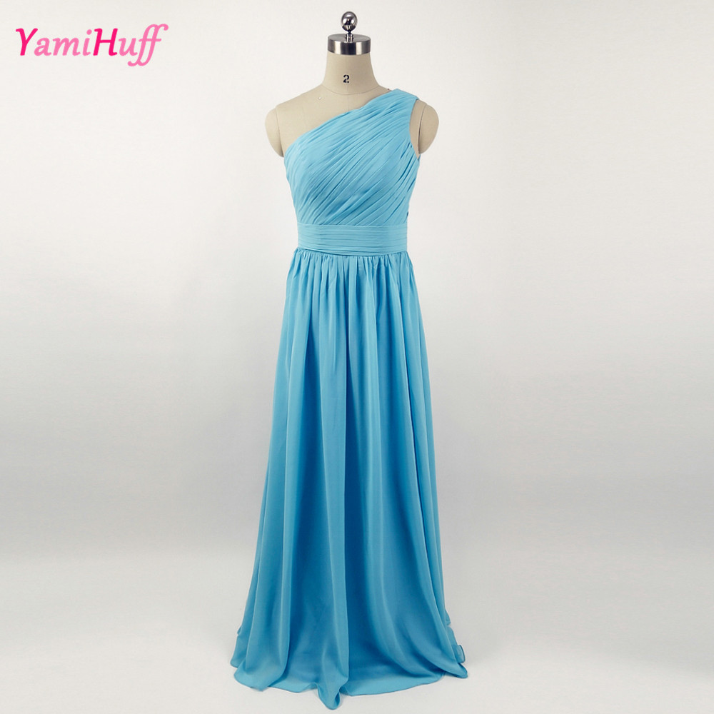 turquoise cheap african bridesmaid dresses long one