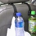2 unids Auto Vehículo Reposacabezas Asiento Trasero Del Sostenedor Del Gancho Accesorios Interiores Del Coche Bolsa de Plástico de Botellas de Bebidas Gancho SD-1017
