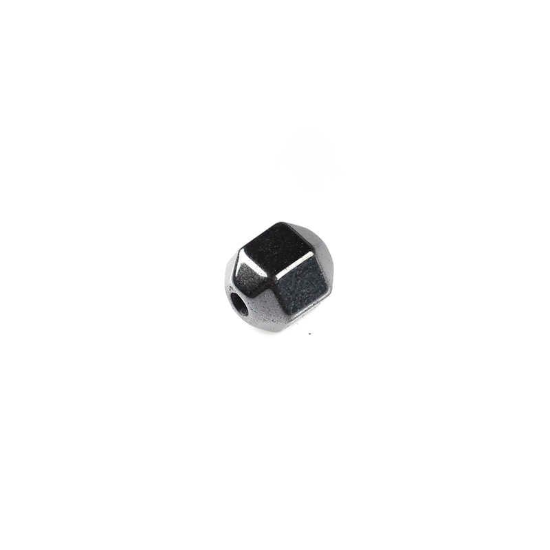Batu Alam Ragam Bulat Bentuk Hitam Bijih Besi Manik-manik 2/3/4/6/7/10/ 12 Mm 202 Pcs Beads untuk Perhiasan Membuat DIY Gelang Kalung