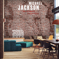 Free Shipping 3D Solid Wood Brick Pattern Of Large Mural Retro Brick Wall Wallpaper Restaurant Bar