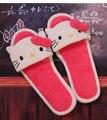 Otoño y el invierno de la manera Del Gatito de Peluche Mujeres Zapatillas Equipamiento Del Hogar hermosa casa zapatillas femeninas zapatillas de interior