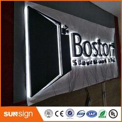 Mall stores LED backlit signs backlit led letters