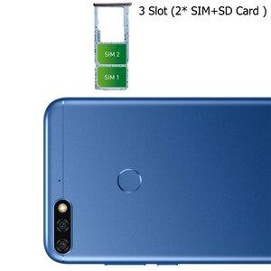 Image 3 - Originais Honra 7C 5.99 polegadas Snapdragon 450 Núcleo octa Frente 8.0MP Dual Câmera Traseira 3000mAh Impressão Digital