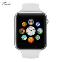 A1 GT08 Männer Frauen Armbanduhr Bluetooth Smart Uhr Android Sport Pedometer Mit SIM Slot Kamera Smartwatch Für Android Geschenk Box
