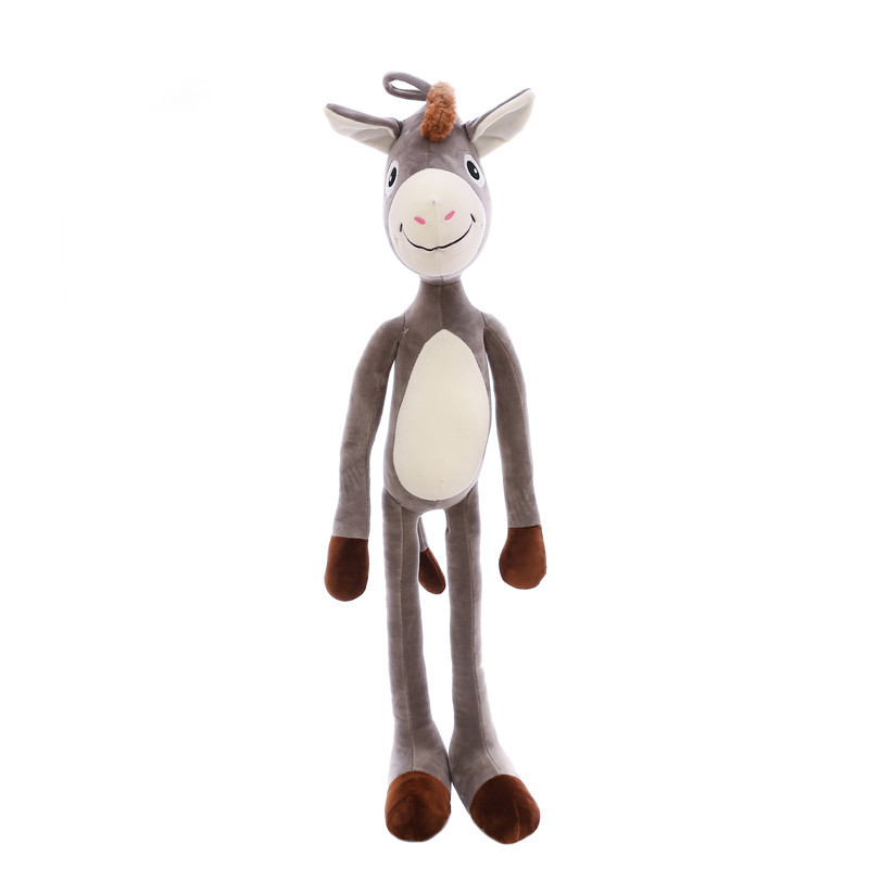 Stuffed animals plush kawaii soft naughty donkey pillows stuffed toys long donkey dolls gifts for children dolls girlfriend gift