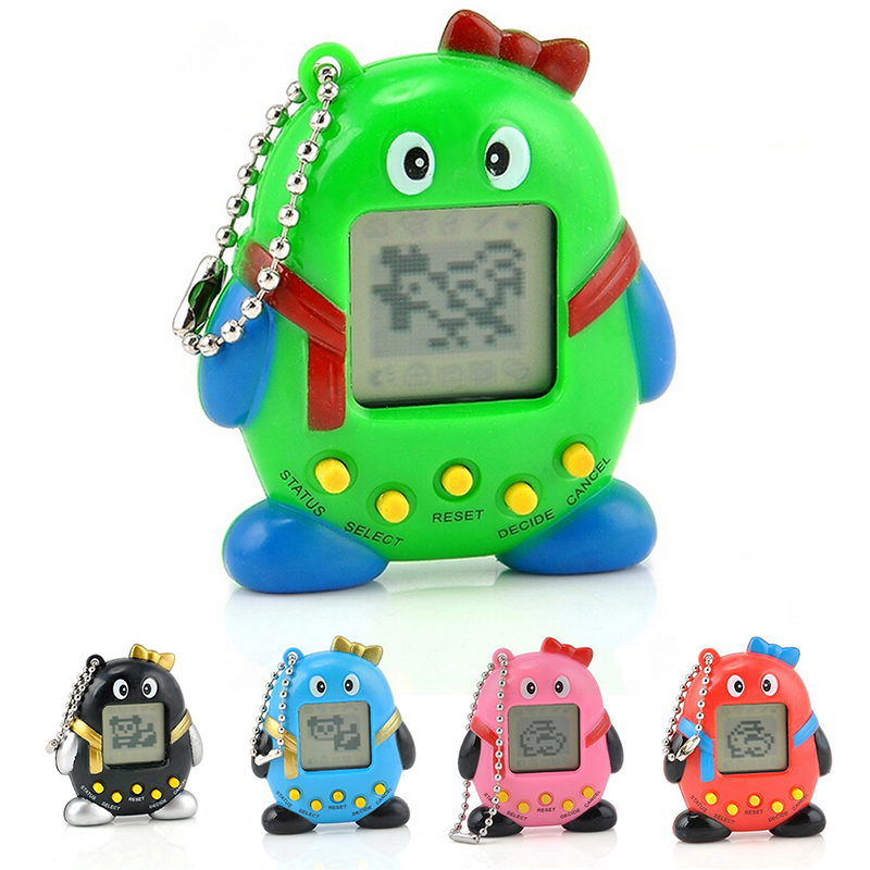 High Quality Pets Nostalgic Virtual Pet Cyber Pet Digital Pet Tamagotchi Penguins E-pet Gift Toy Handheld Game Machine
