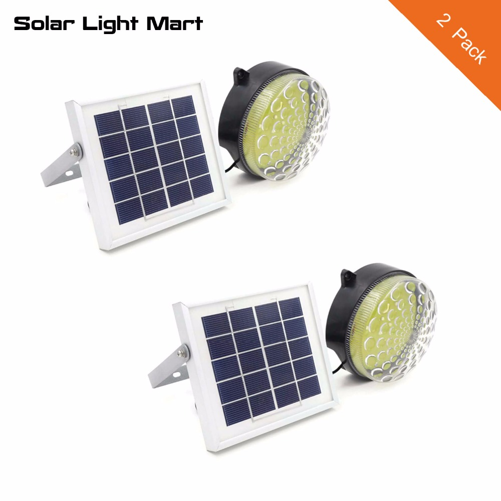 Free Shipping 2 Pack -ROXY Outdoor Indoor Waterproof Auto 3 Power Modes Solar Powered LED Shed Light ultrathin led flood light 200w ac85 265v waterproof ip65 floodlight spotlight outdoor lighting free shipping