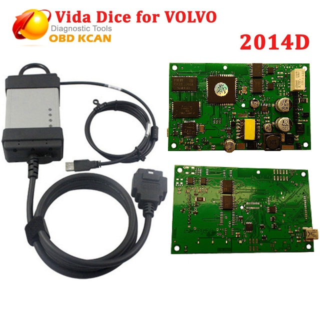 Diesel And Gasoline Cars 2014D Vida Dice  Professional Scanner For Volvo Vida Dice Diagnostic Tool According Vide Dice Protocol