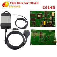 Diesel and Gasoline Cars 2014D Vida dice Professional Scanner For Volvo Vida Dice diagnostic tool According vide Dice Protocol