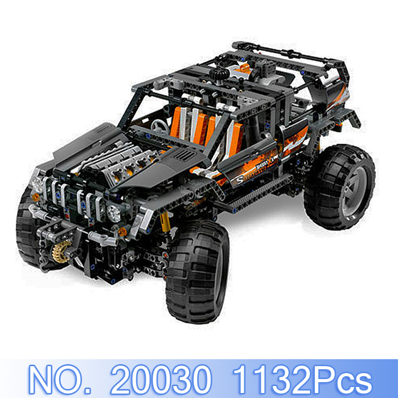 Lepin 20030 Technic Figures 1132Pcs Off Reader Building Blocks Bricks Set Educational Toys Gift Model Kits Compatible With 8297