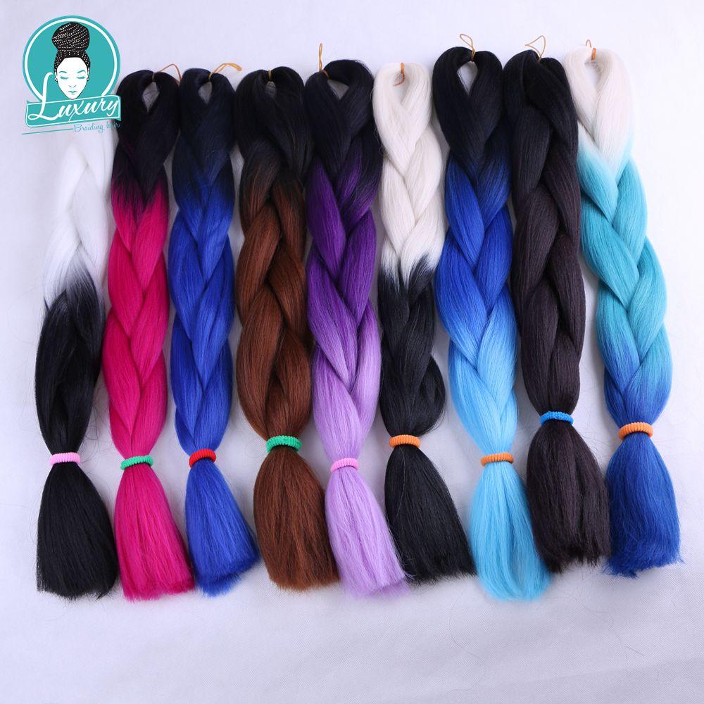 ombre kanekalon braiding hair28