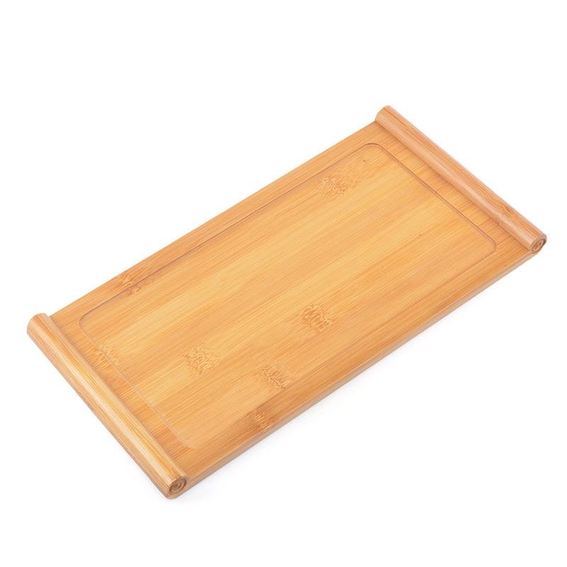 PINNY Bamboo Rectangular Tea Tray Natural Board Chinese Kung Fu Set Teapot Crafts Environment Nature