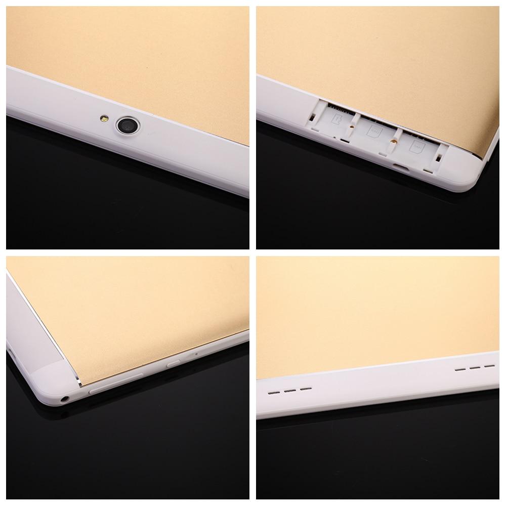 "Купить с кэшбэком 2018 New Android 6.0 Tablets PC Tab Pad 10 Inch IPS 1280x800 Quad Core 1GB RAM 16GB ROM Dual SIM Card 3G Phone Call 10"" Phablet"