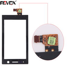 3.5 New Front Panel For Sony Ericsson Xperia U ST25 ST25i Touch Screen Sensor Digitizer Outer Glass TP Repair Black 3 5 for sony ericsson xperia u st25 st25i lcd touch screen digitizer sensor outer glass lens panel replacement