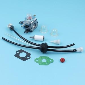 Image 5 - キャブレター燃料フィルターラインベントプライマー電球キット用エコーSRM2100 gt2000 GT2100 PAS2000トリマーzama C1U K29 C1U K47 C1U K52