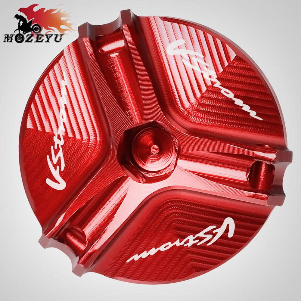 For Suzuki DL650 V STROM 2004 2012 DL1000 V STROM 2002 2016 Motorcycle Aluminum Accessories Engine Oil Cap Oil Fuel Filler Cover in Covers Ornamental Mouldings from Automobiles Motorcycles