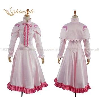 Kisstyle Fashion Akame ga Kill! Night Raid Pink Cosplay Clothing Costume new