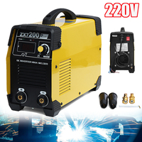 220V ZX7 200 Portable IGBT MMA Welding Machine DC Inverter 20 200A Mini Digital Air Cooling Electric Soldering Welding Tool