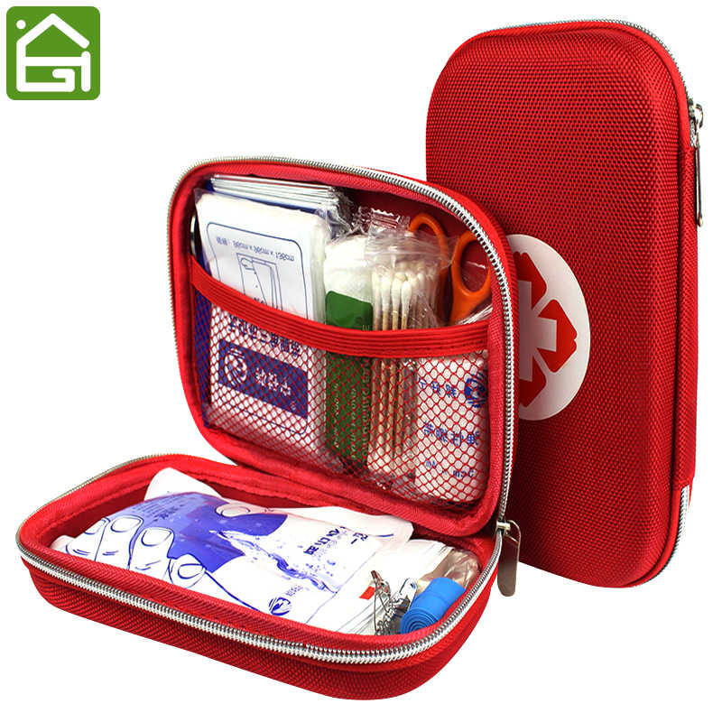 Travel Portable Medicine Storage Bag First Aid Emergence Medical Case Hiking Camping Survival Bag Medicine Organizer