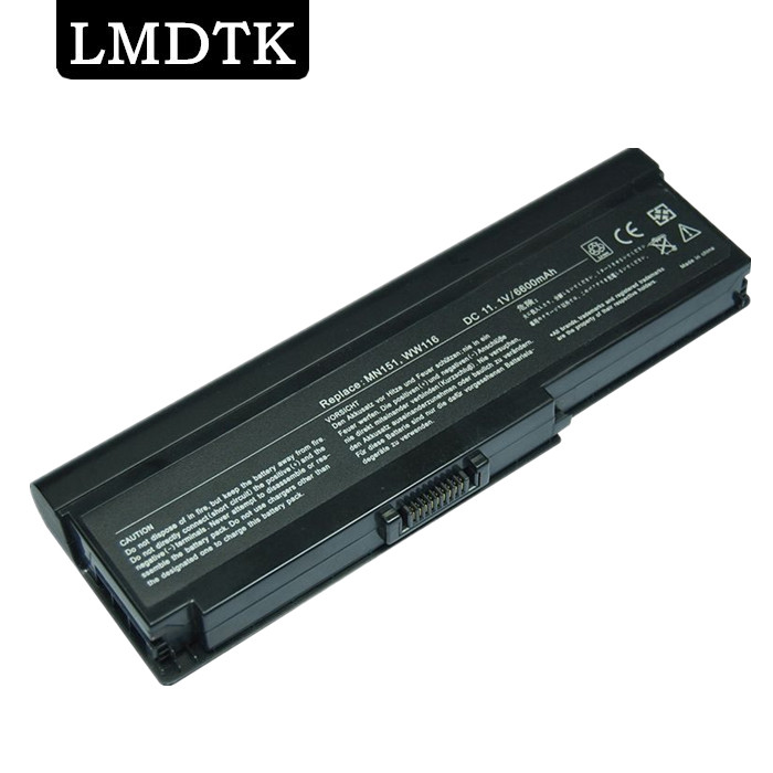 LMDTK New 9 CELLS Laptop <font><b>Battery</b></font> For <font><b>Dell</b></font> <font><b>Inspiron</b></font> <font><b>1420</b></font> Vostro 1400 MN151 WW116 PR693 FT080 free shipping image