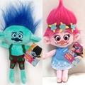 1pc New Movie toys Trolls Plush Toy Poppy Branch Dream Works Stuffed Dolls The Good Luck Cartoon Trolls doll Christmas Gifts