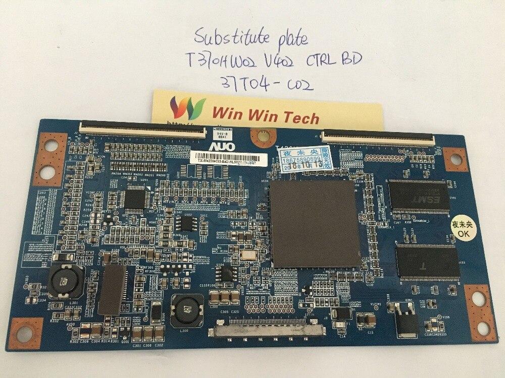 Free shipping Substitute borad LA37A550P1R T-CON T370HW02 V402 CTRL BD 37T04-C02 37T04-CO2 цены онлайн