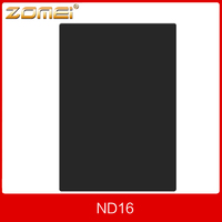 New Zomei Pro ND16 ND1 2 100 150mm 100x150mm 4 Stop Neutral Density Square Filter For