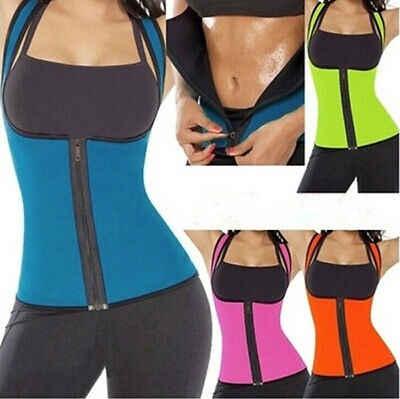 Yoga/Chạy Vest New SEXY Phụ Nữ Neoprene Cơ Thể Shaper Giảm Béo Eo Vành Đai Mỏng Underbust Cộng Với Kích Thước XXL Màu Hồng & màu xanh và Màu Đen