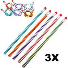 3 шт. красочный волшебный гибкий мягкий карандаш для детей, студент, школа, офис, 01KO 4O3R 8CJV