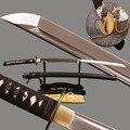 Brandon Swords  ручная работа  Honsanmai  японский самурайский катана  настоящий заточенный  полный Танг  боевой меч  винтажное металлическое украшение...