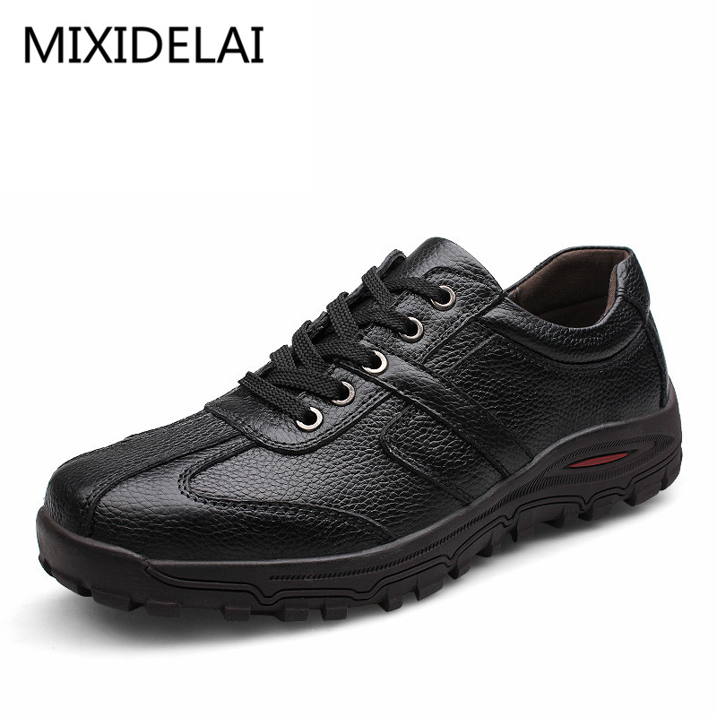 Men Plus Size 46,47,48 Dropshipping Fashion Men Shoes Genuine Leather Fashion Men's Casual Shoes Male Formal Creepers