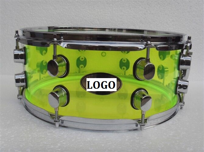 13 6 5 acrylic snare drum
