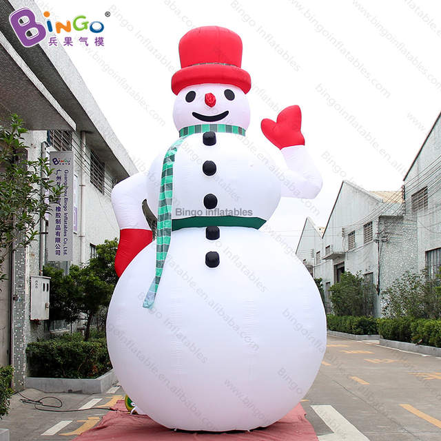 Verrassend FACTORY OUTLET 5m inflatable giant snowman waving hand blowup PN-79