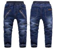 SKZ 310 Free Shipping 2014 Spring Autumn Children Fashion Pants KK Rabbit Boy Cotton Jeans New