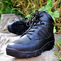 America Army Men S Tactical Boots Desert Outdoor Hiking Enthusiasts Genuine Leather Boots Military Marine Male