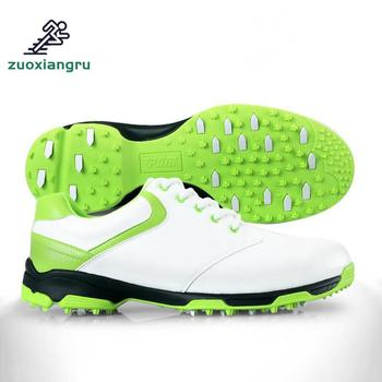 You find what youre looking Golf Shoes Men Hot Style Stereoscopic Printing Golf Shoes Male High-end Sports Super Waterproof Shoes Activities Nail Shoes
