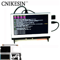 CNIKESIN Raspberry Pi 3 era B+ 7 Inch LCD screen LCD Capacitive touch hd monitor Raspberry Pi Mini 7inch HDMI LCD Screen