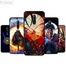 DR Doctor Strange Silicone Case for Oneplus 7 7Pro 5T 6 6T Black Soft Case for Oneplus 7 7 Pro TPU Phone Cover